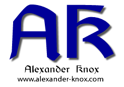 Signature block and logo for Alexander Knox